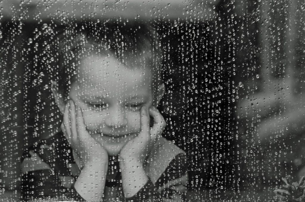 dítě aprílové počasí